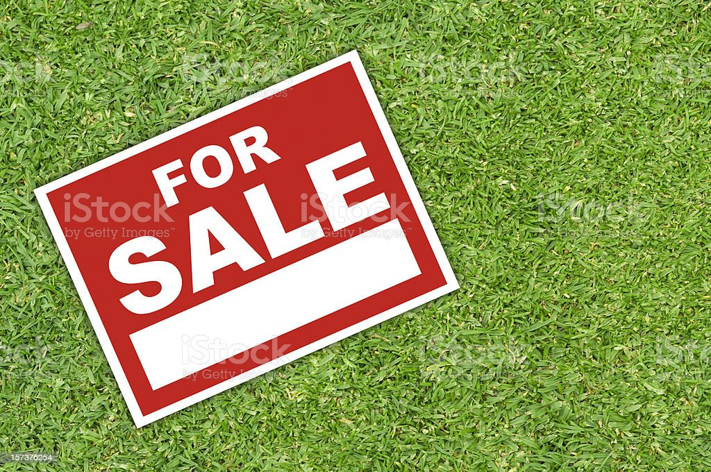 For Sale royalty-free stock photo