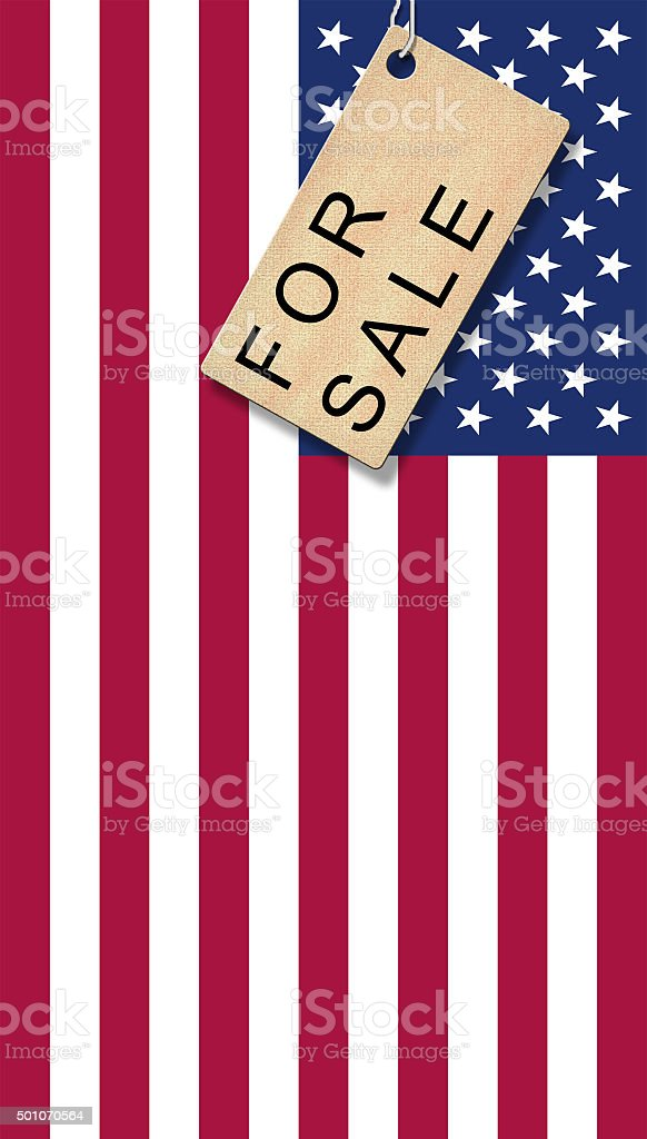 USA for Sale stock photo