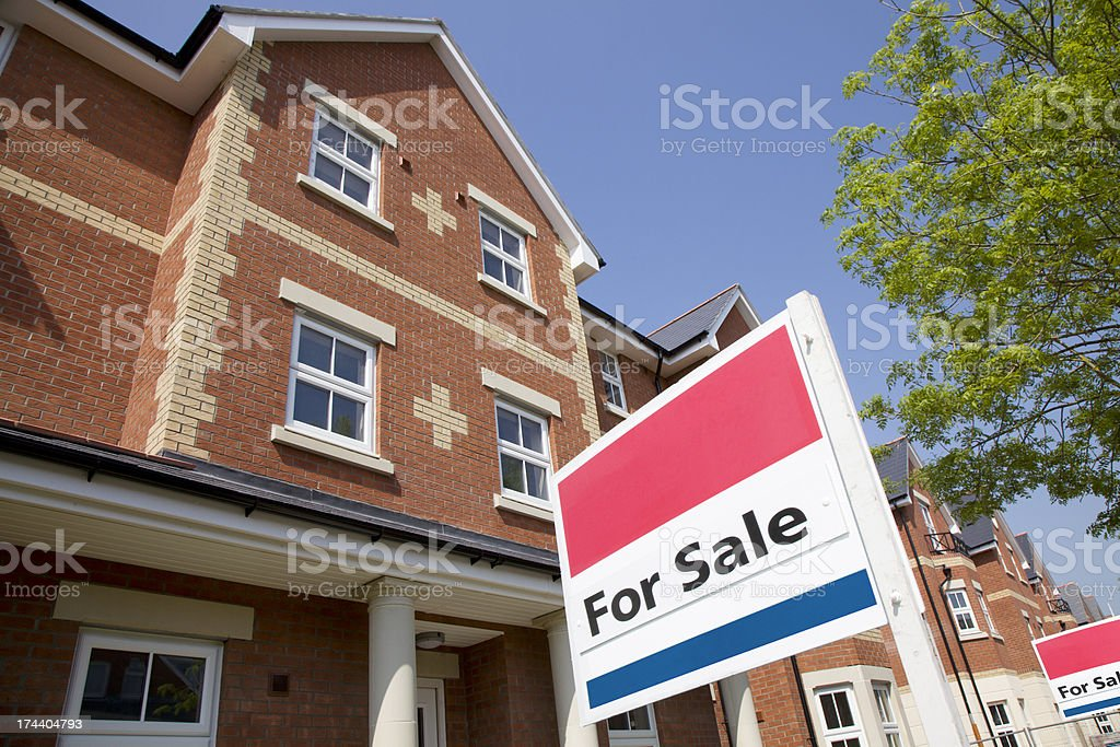 For Sale Property Landscape royalty-free stock photo