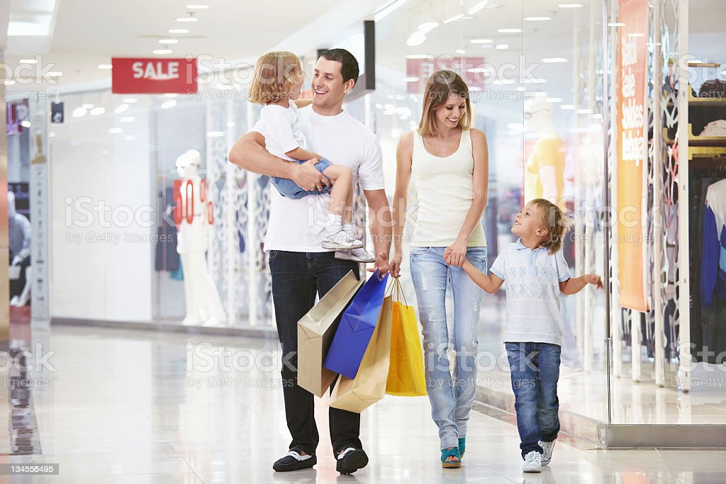 For shopping royalty-free stock photo