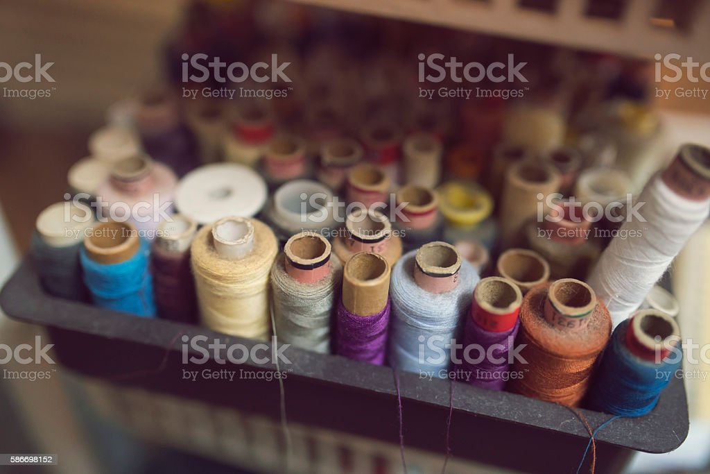 For skilled tailors stock photo