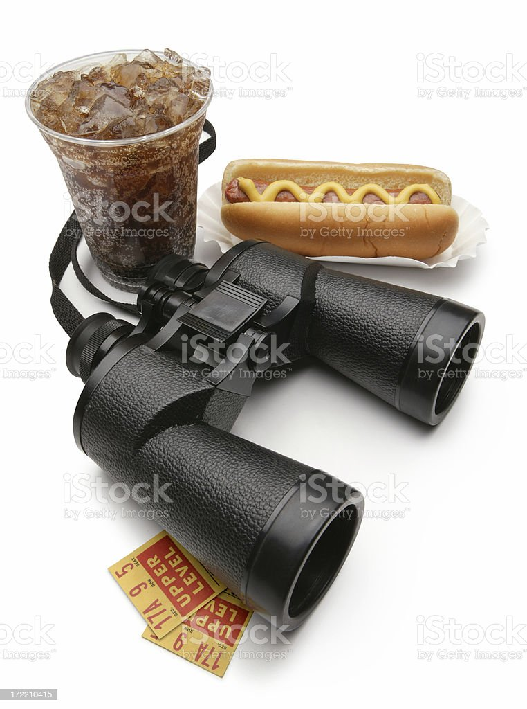For the Big Game royalty-free stock photo