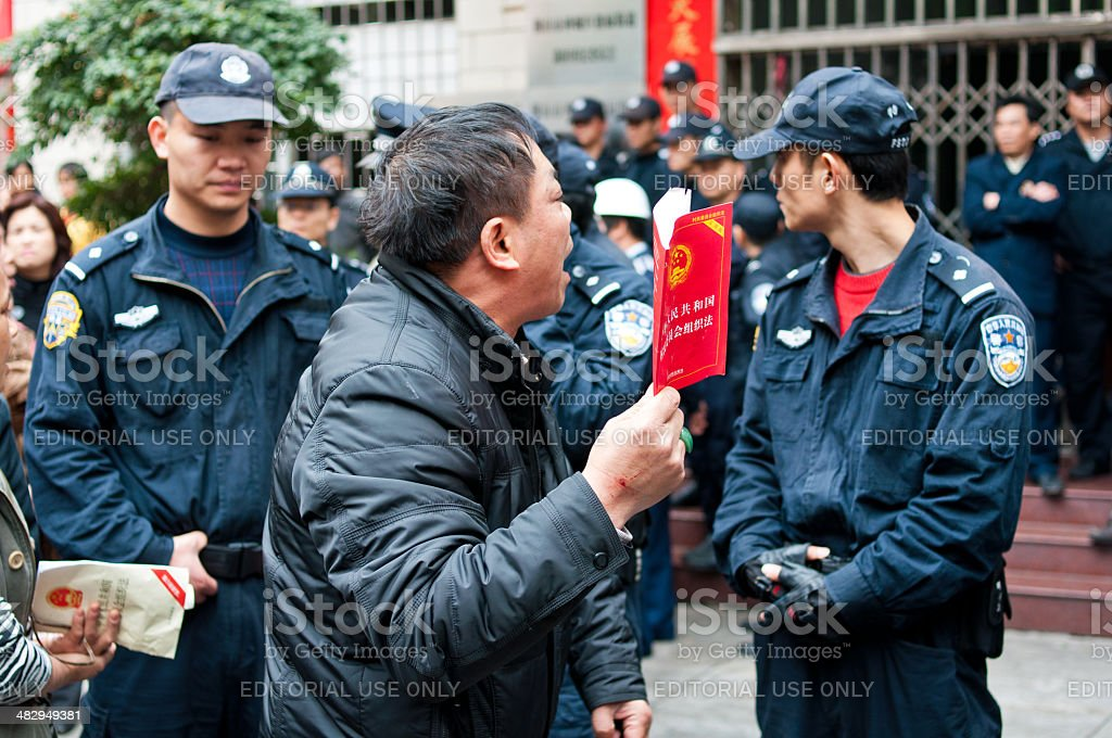 For the electoral rights movement stock photo