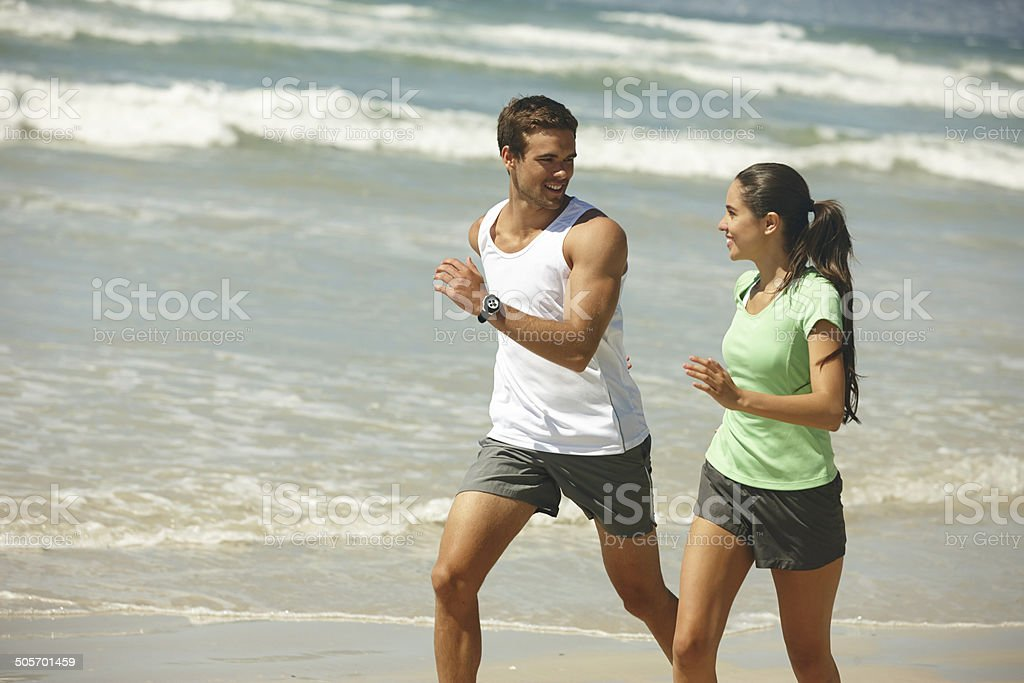 For the love of fitness stock photo