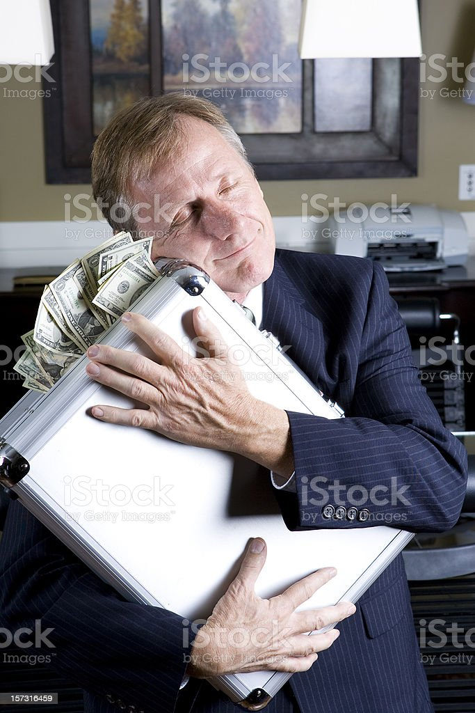 For The Love Of Money royalty-free stock photo