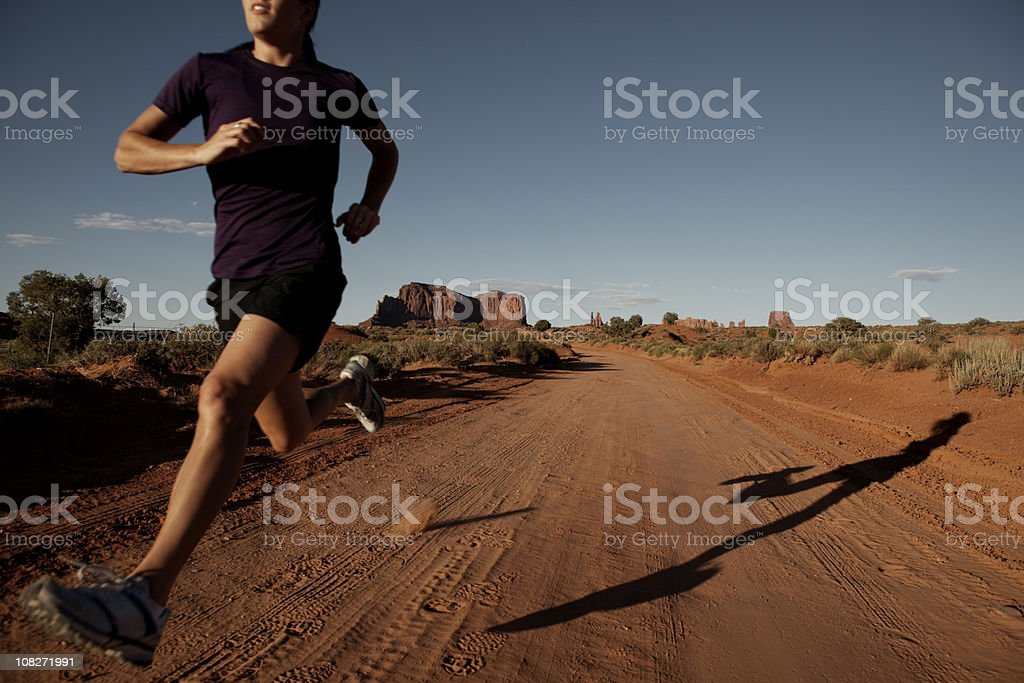 For the Love of Running royalty-free stock photo