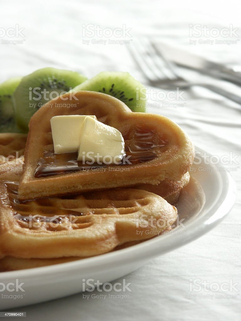 for the love of waffles 02 royalty-free stock photo