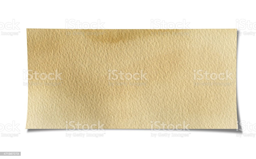 For The Message Paper stock photo