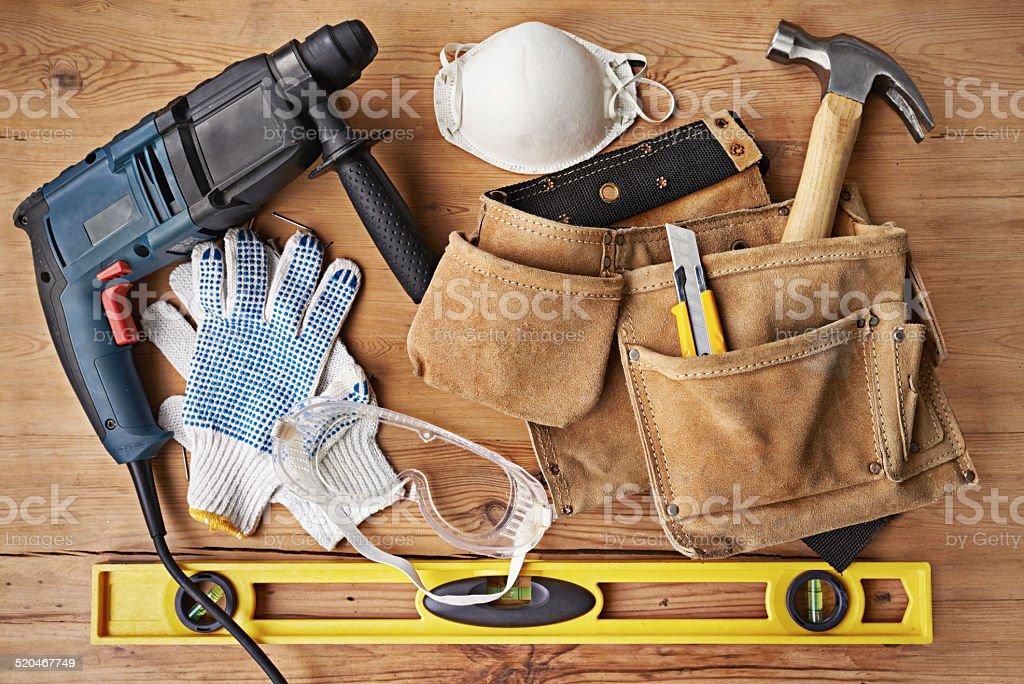 For the modern-day handyman stock photo