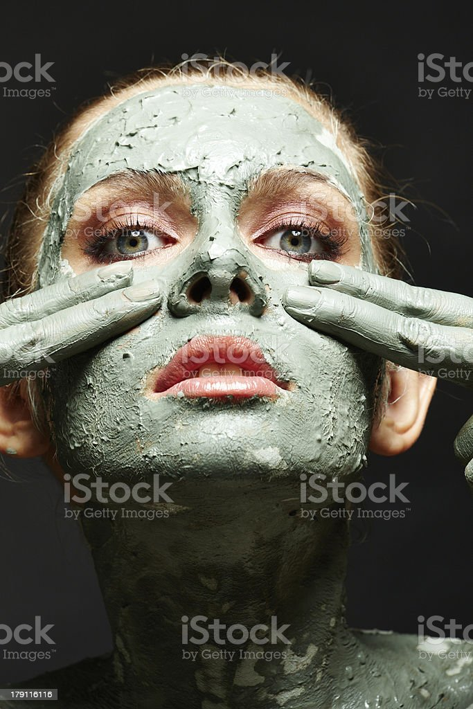 For the sake of beauty royalty-free stock photo
