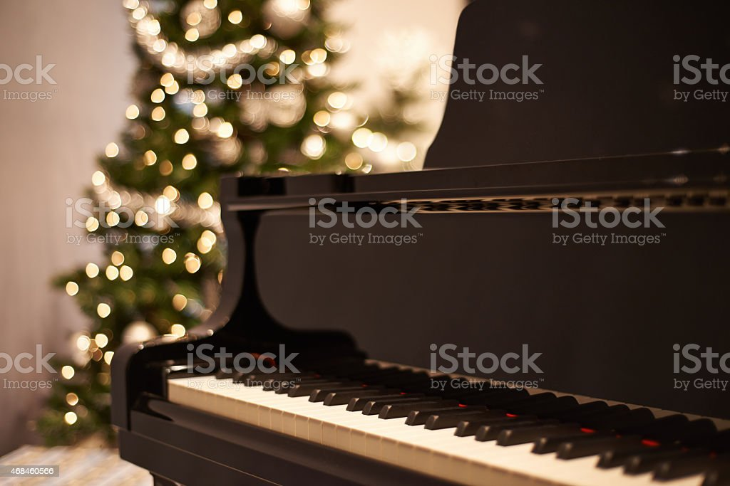 For the sound of Christmas stock photo