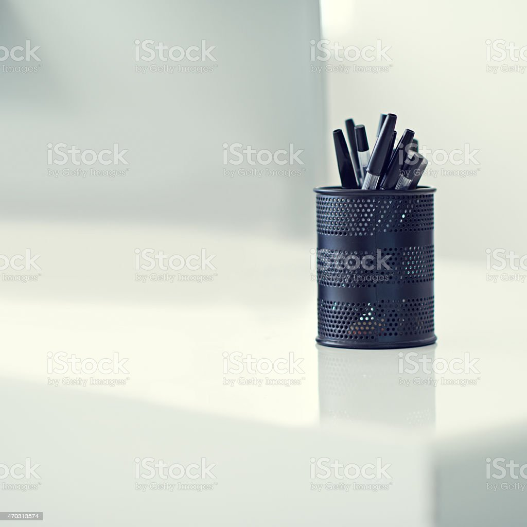 For when you need to sign an important document stock photo