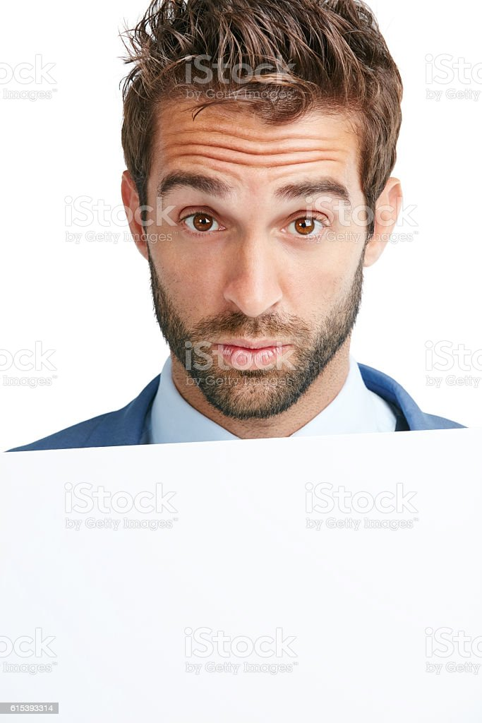 For your attention stock photo