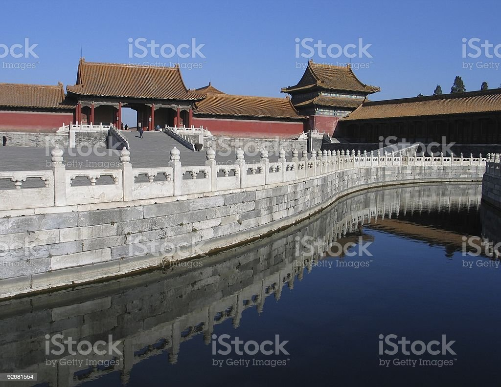 Forbidden City 2 royalty-free stock photo