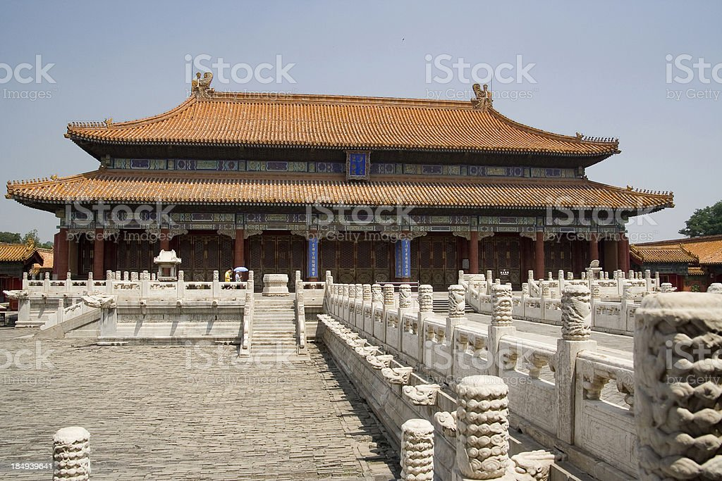 Forbidden City, Beijing 1 royalty-free stock photo