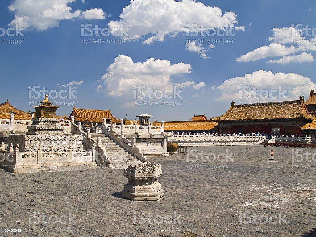 Forbidden city. Beijing, China royalty-free stock photo
