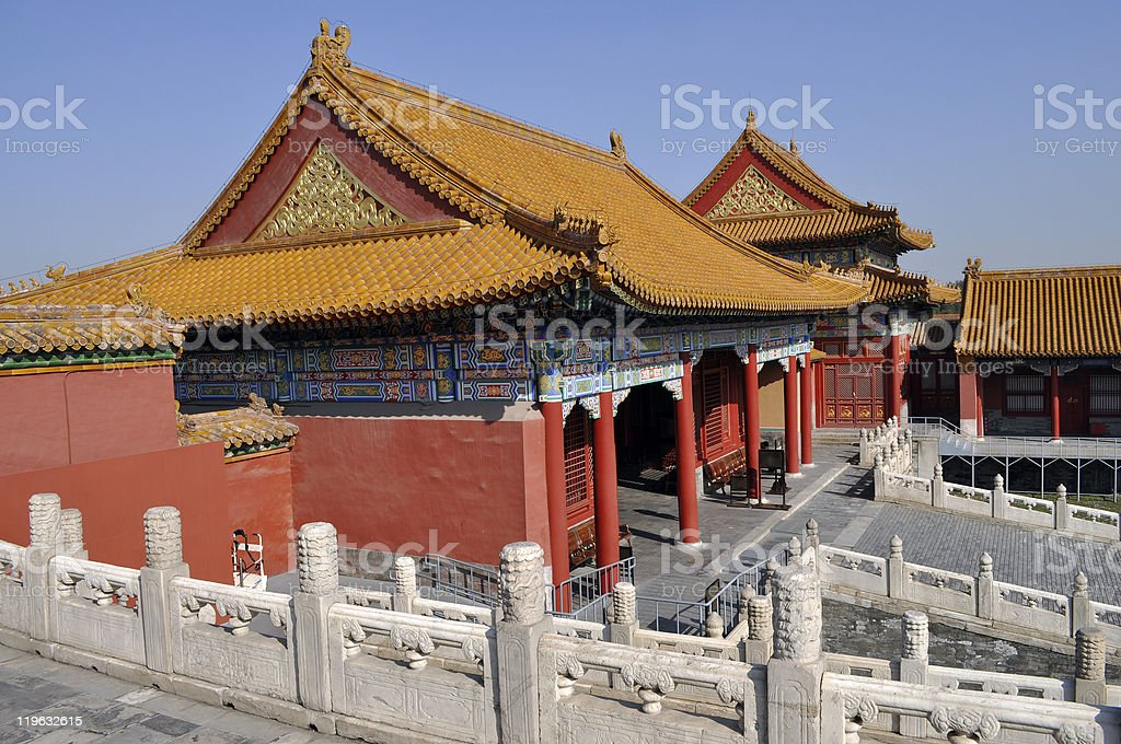 Forbidden City Beijing royalty-free stock photo