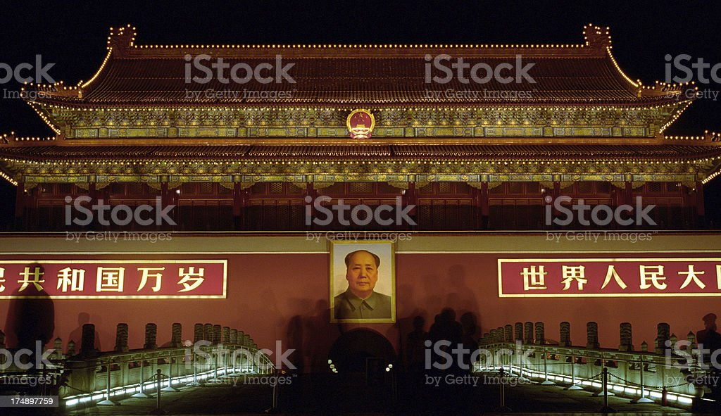 Forbidden City in Beijing - China royalty-free stock photo