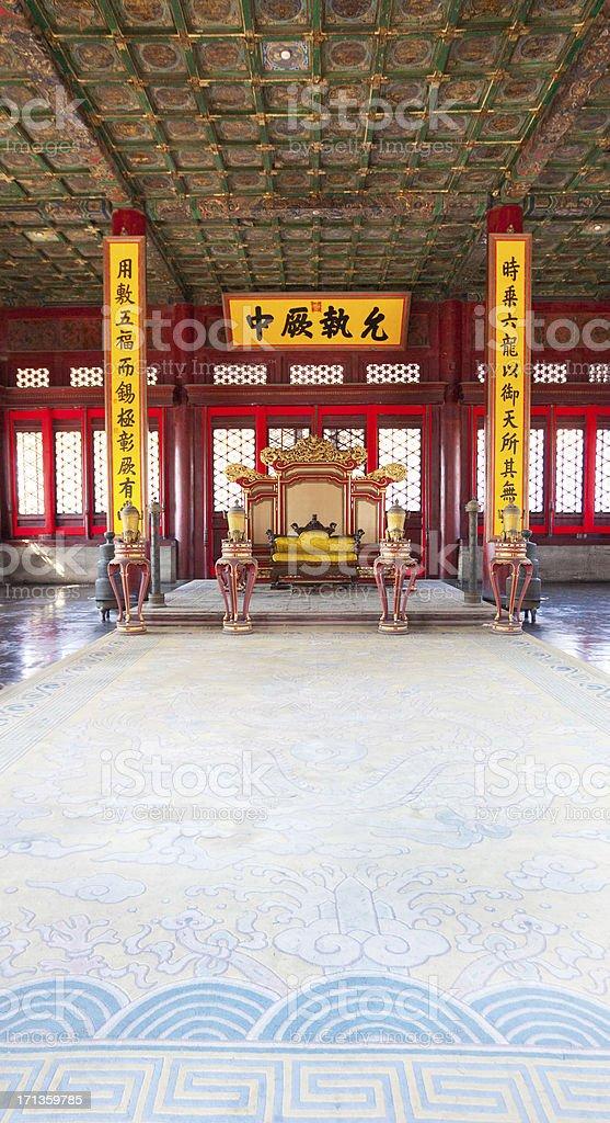 Forbidden City Palace, China royalty-free stock photo