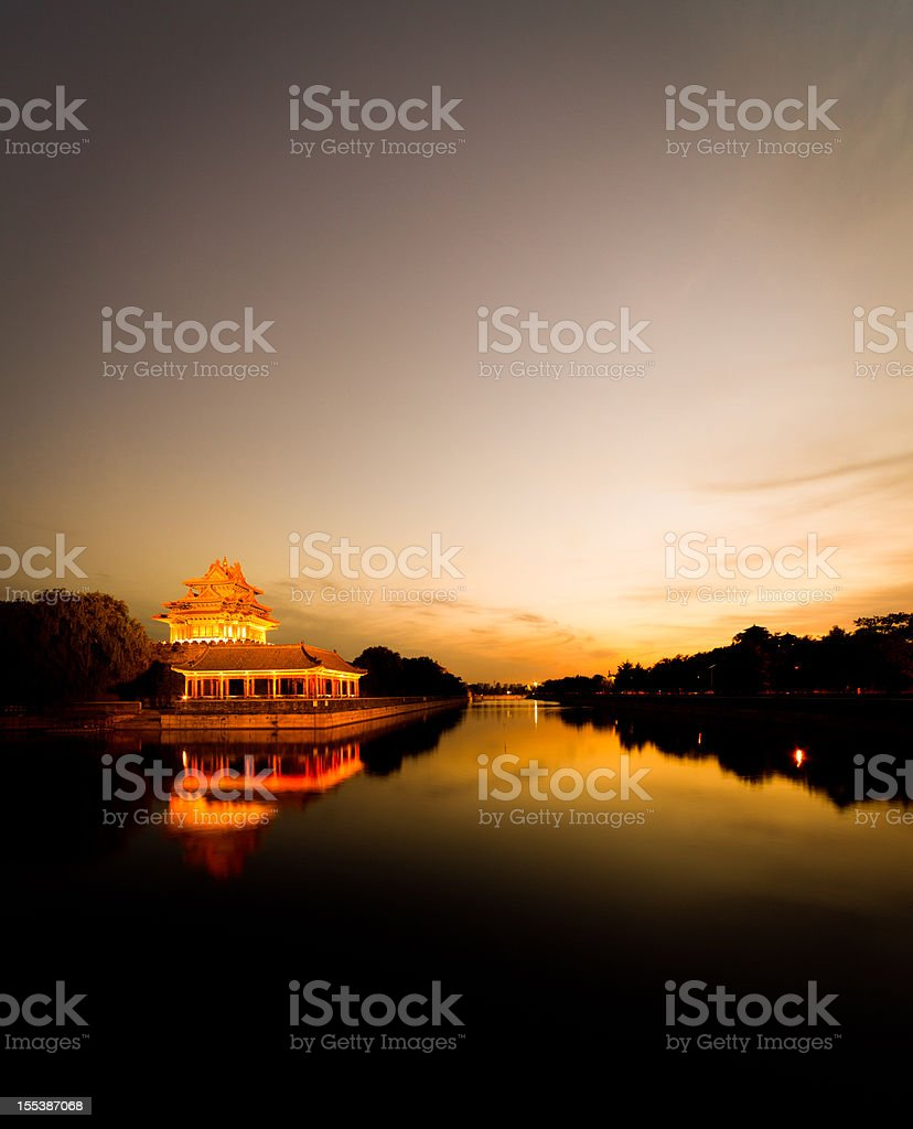 Forbidden City, Peking royalty-free stock photo