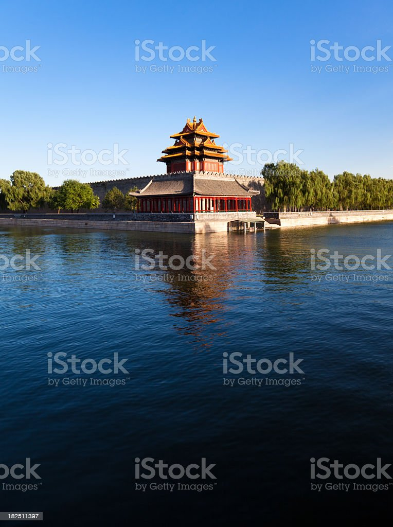 Forbidden City , Peking stock photo