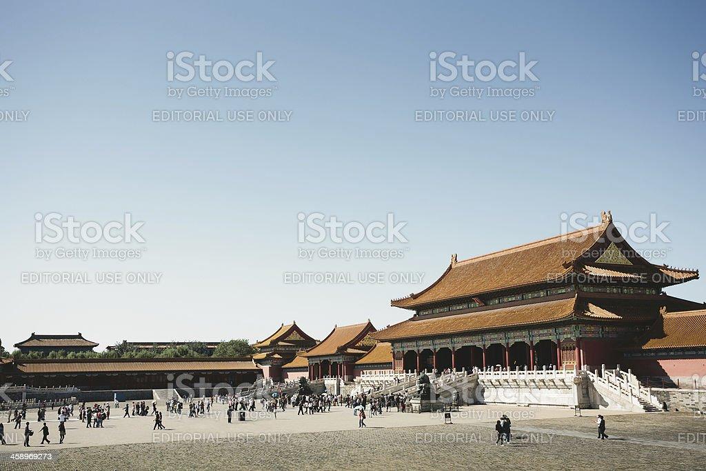 Forbidden City royalty-free stock photo