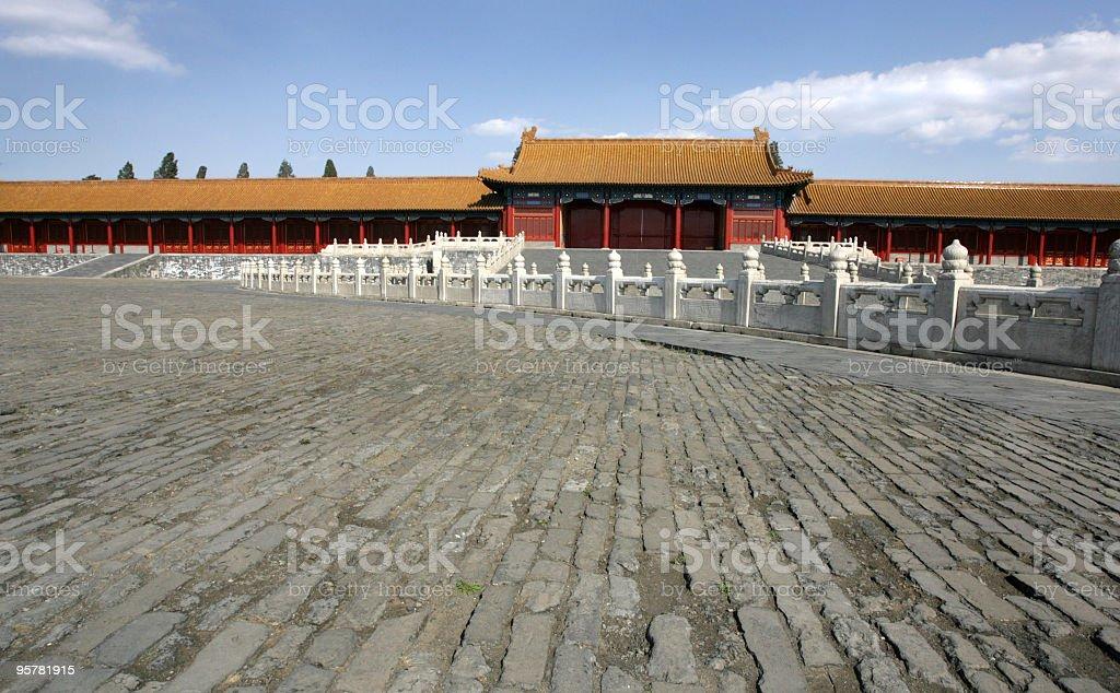 Forbidden City Stone / Tile Pavers stock photo