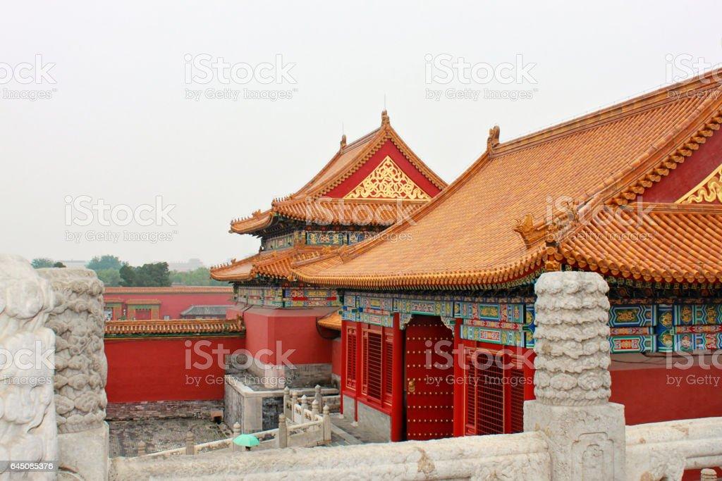 Forbidden City, the Palace Museum, Beijing, China stock photo