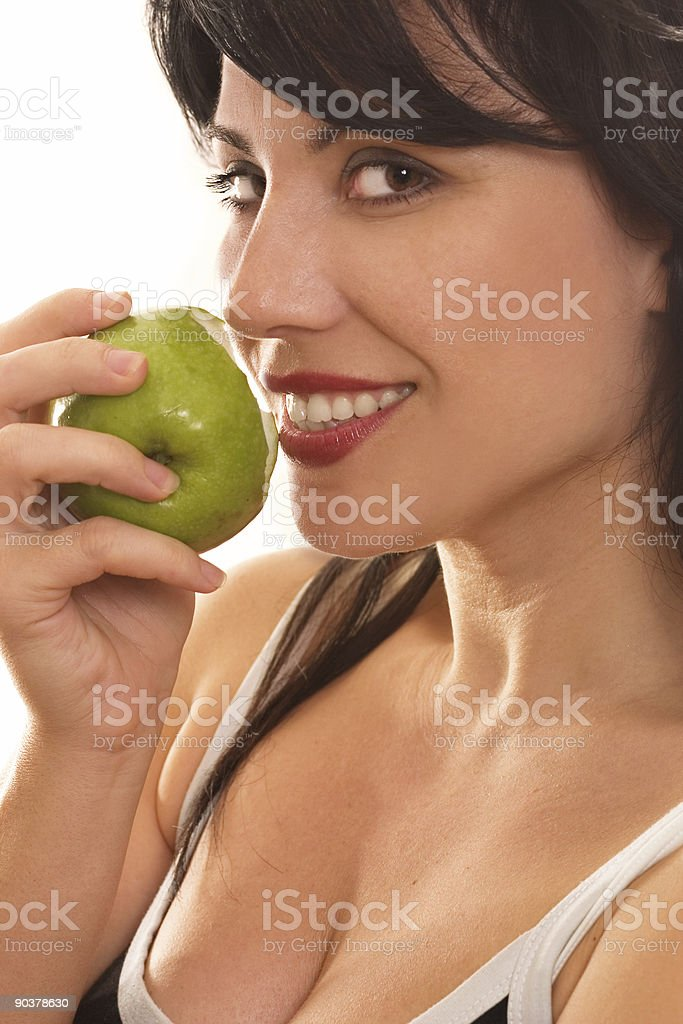 Forbidden Fruit royalty-free stock photo