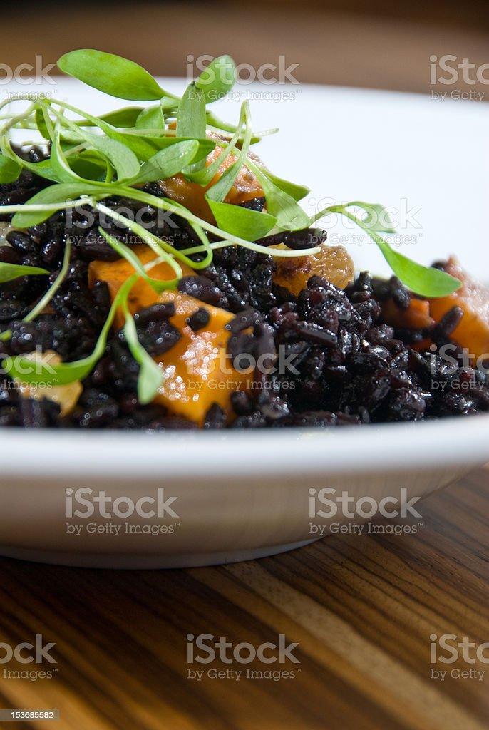 'forbidden' rice stock photo
