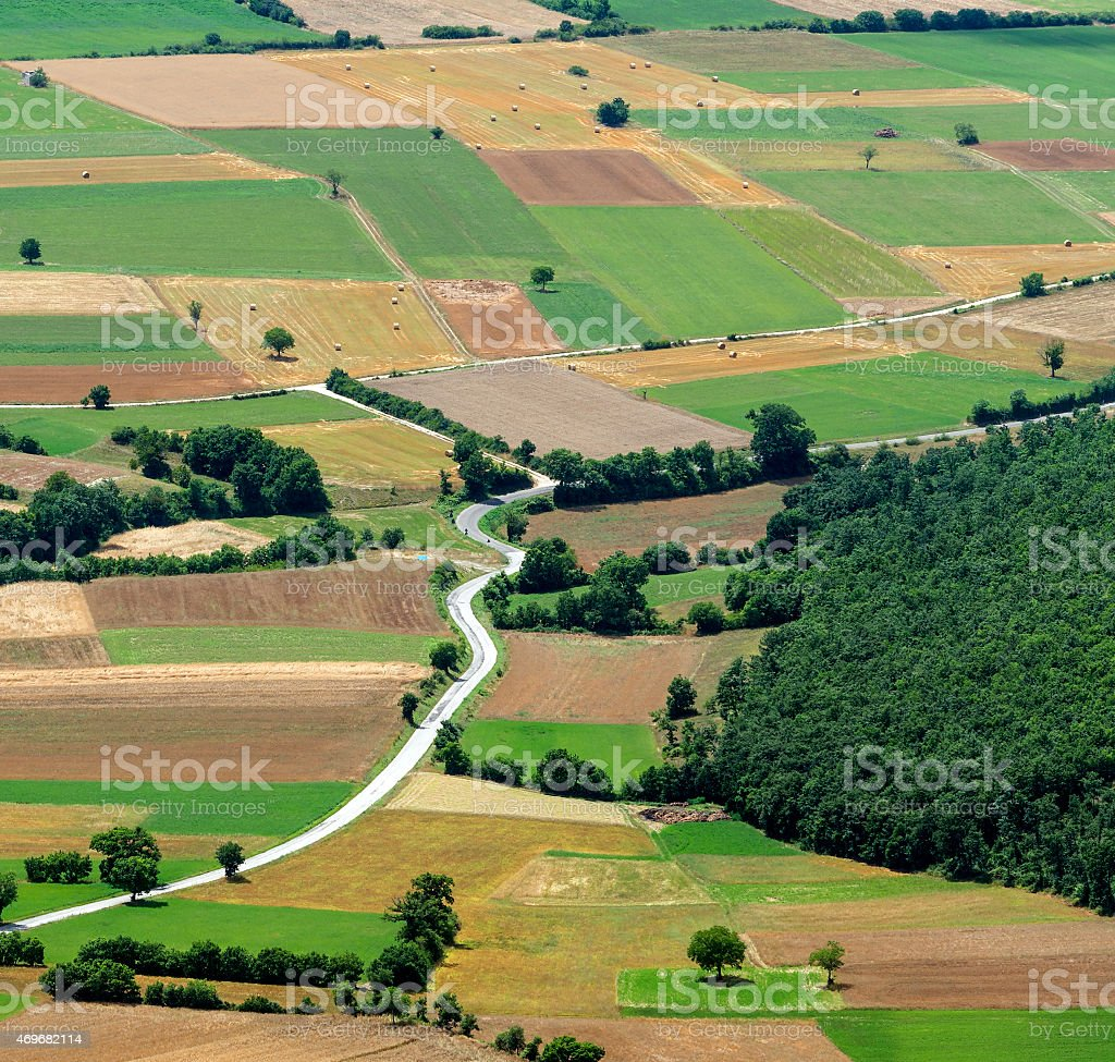 Forca Canapine (Umbria) stock photo