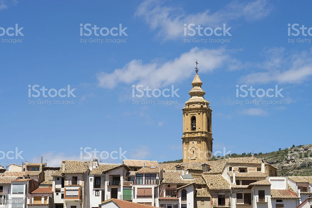 Forcall old town royalty-free stock photo