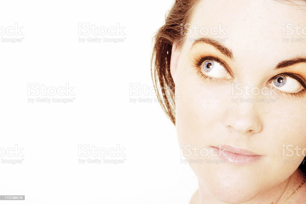 Forceful Vision royalty-free stock photo