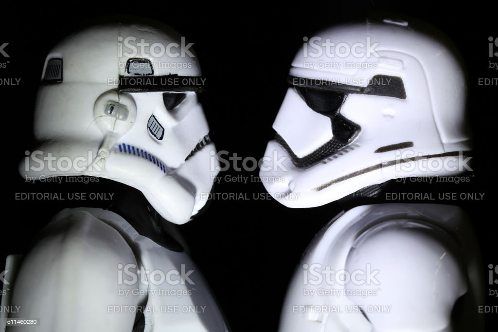 Forces of Order stock photo