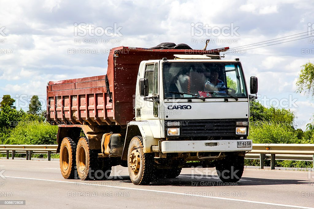 Ford Cargo stock photo
