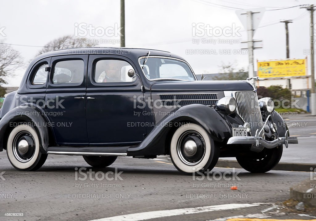 Ford Delux from 1937 royalty-free stock photo