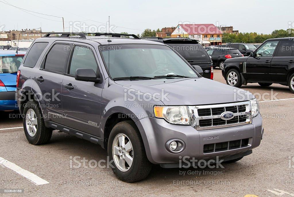 Ford Escape stock photo