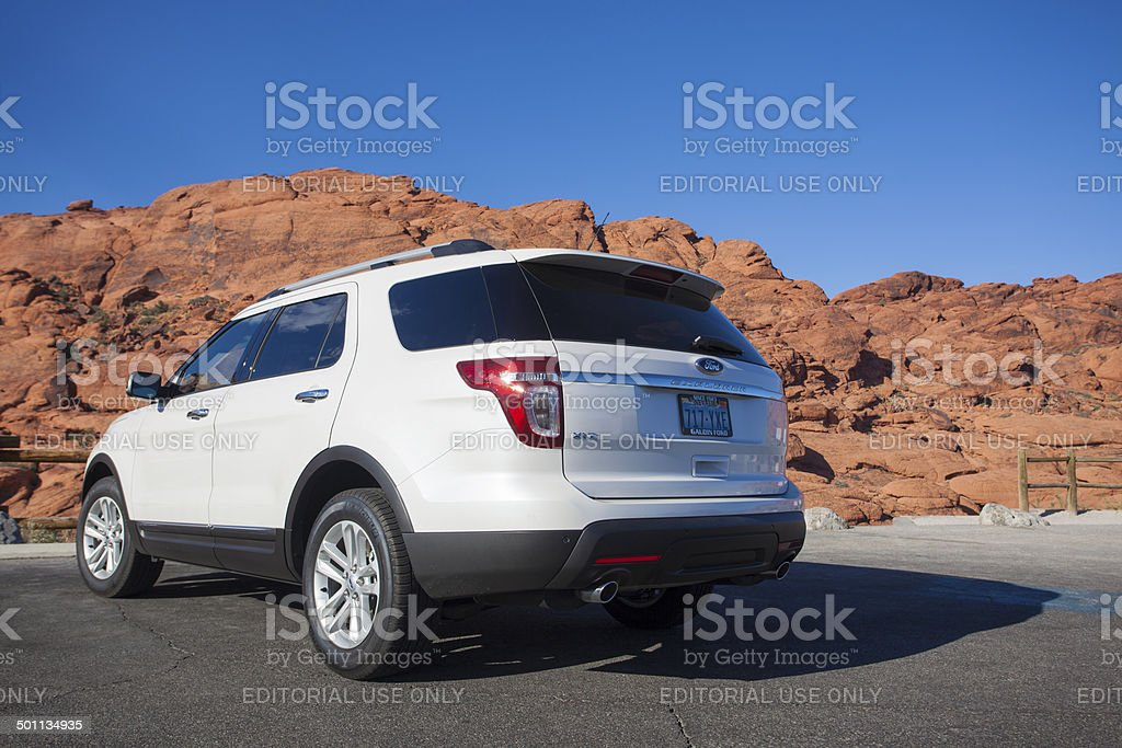 Ford Explorer royalty-free stock photo