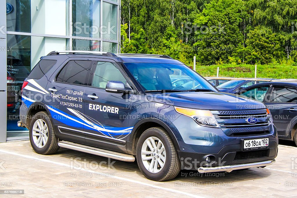 Ford Explorer stock photo