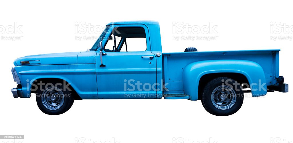 Ford F-100 stock photo