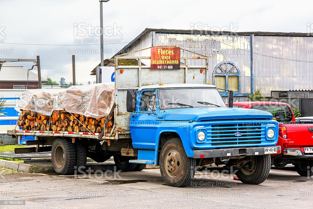 Ford F11000 stock photo