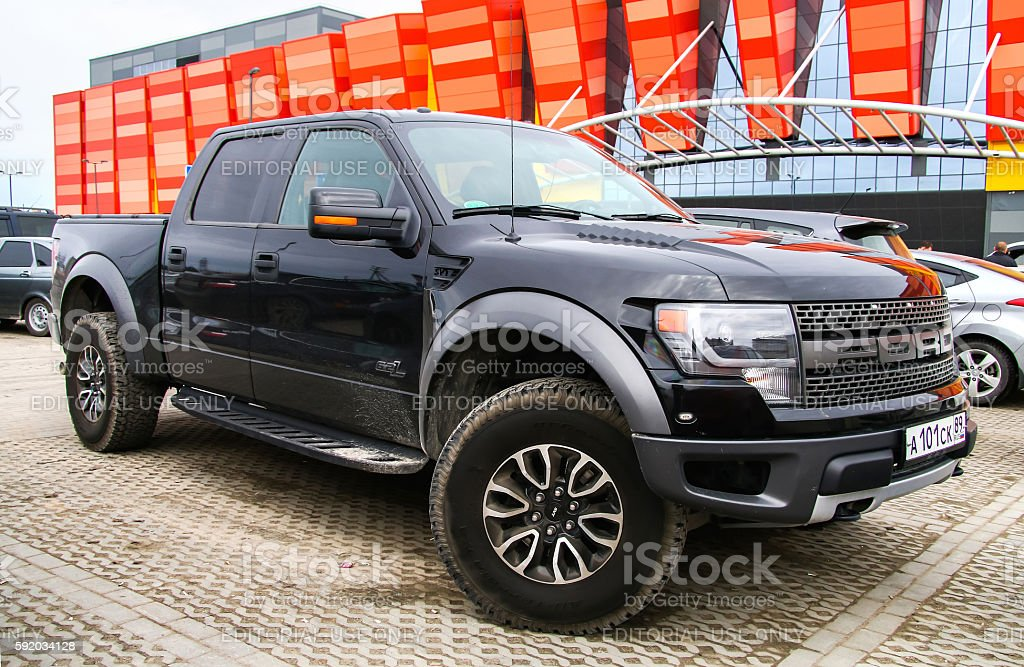 Ford F-150 stock photo