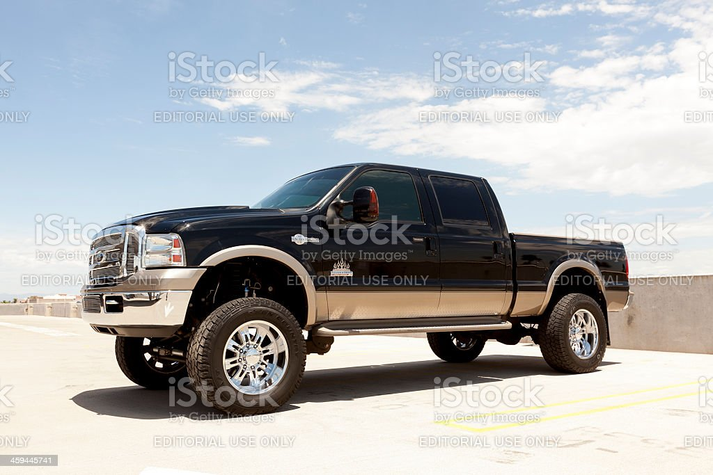 Ford F250 King Ranch Edition. stock photo