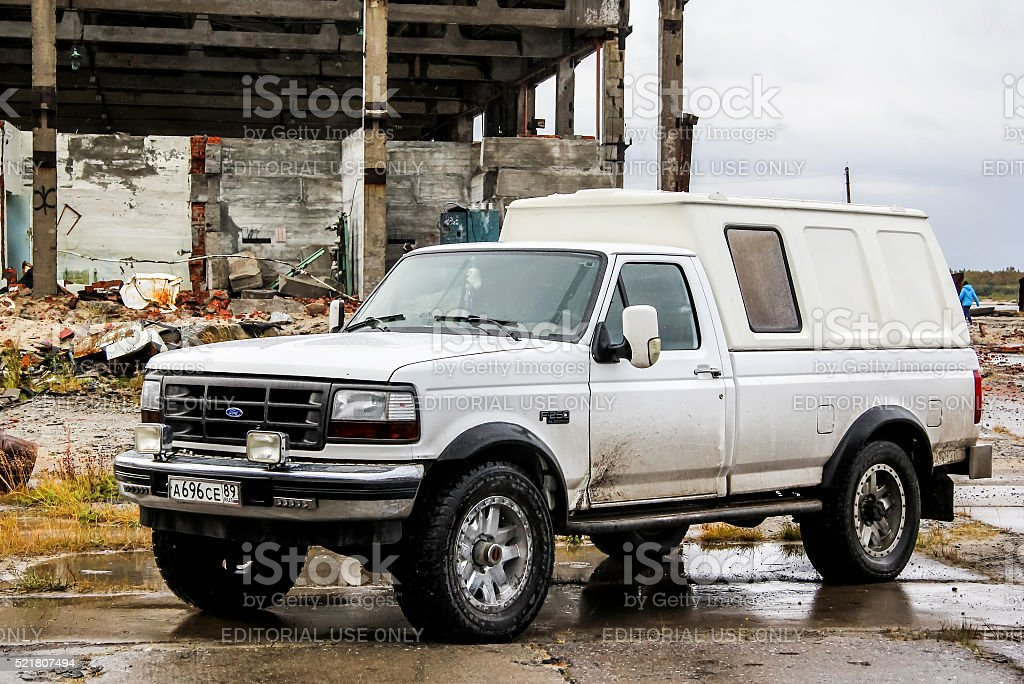 Ford F-250 stock photo