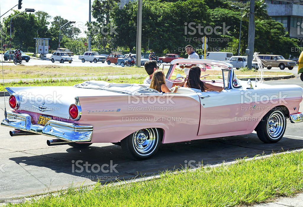 Ford Fairlane 500 royalty-free stock photo