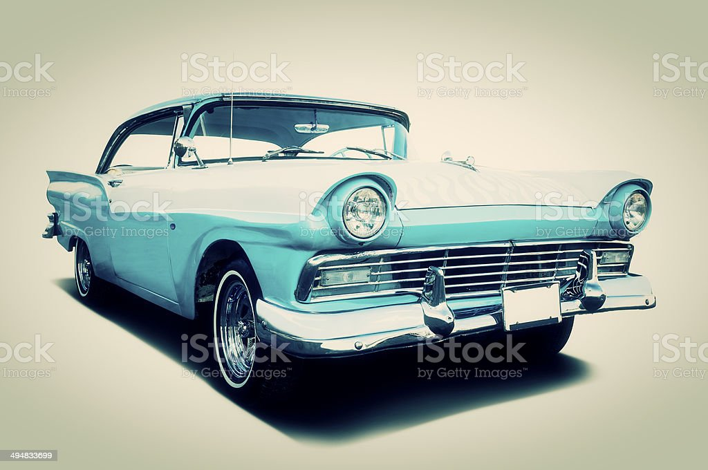 Ford Fairlane 500 stock photo