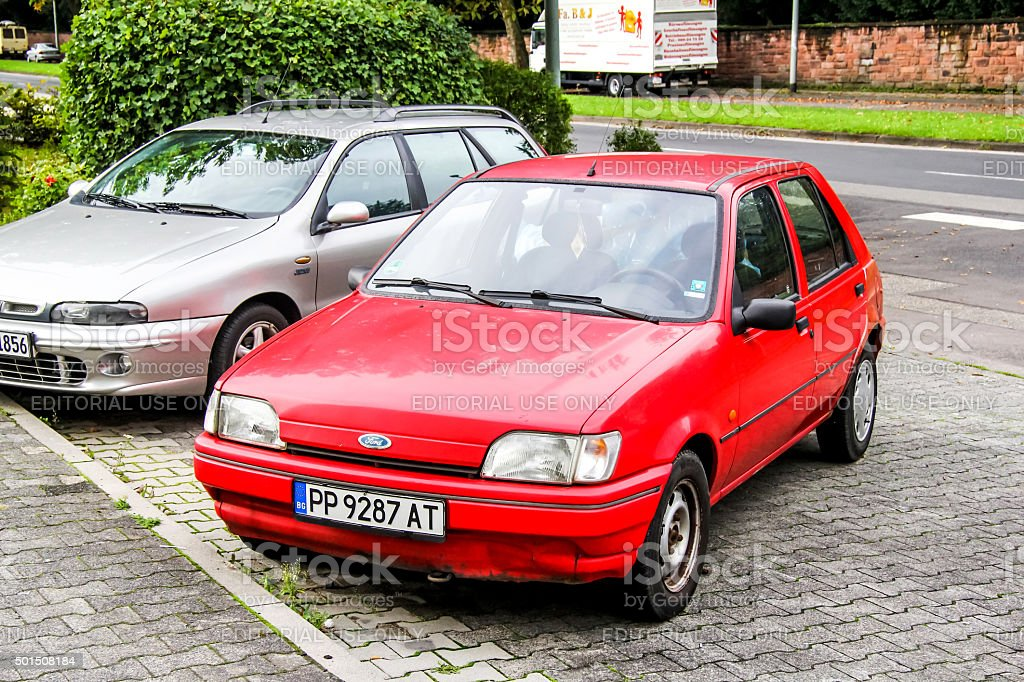Ford Fiesta stock photo