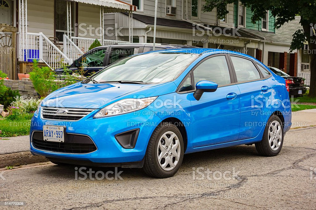 Ford Fiesta stock photo