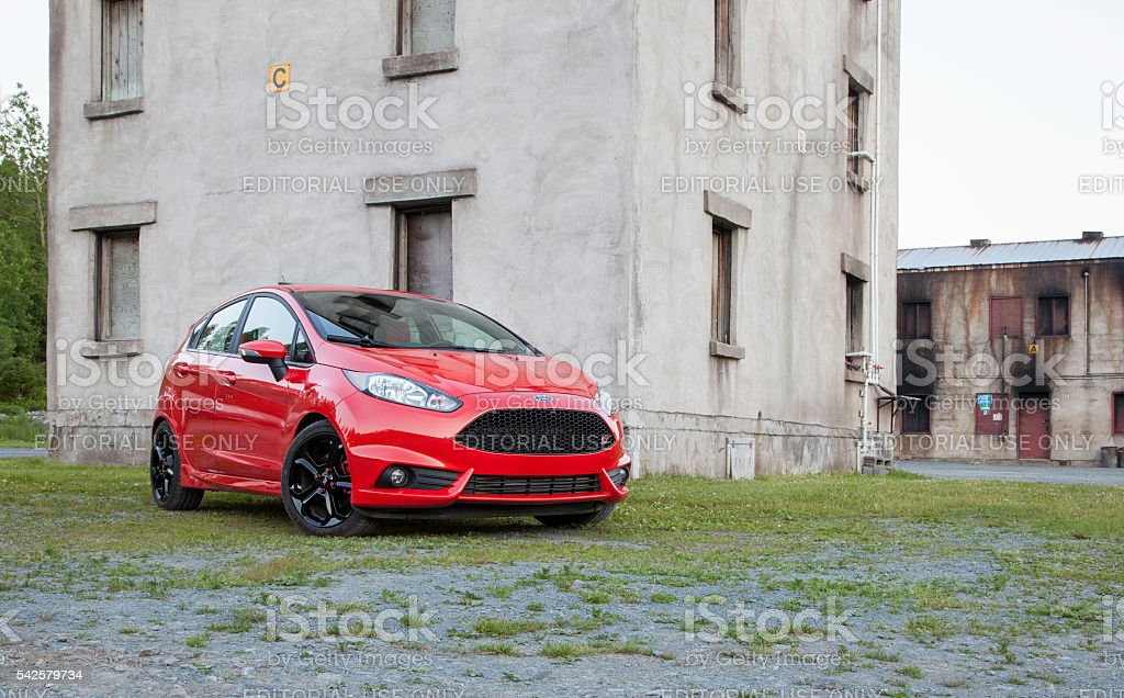 Ford Fiesta ST stock photo