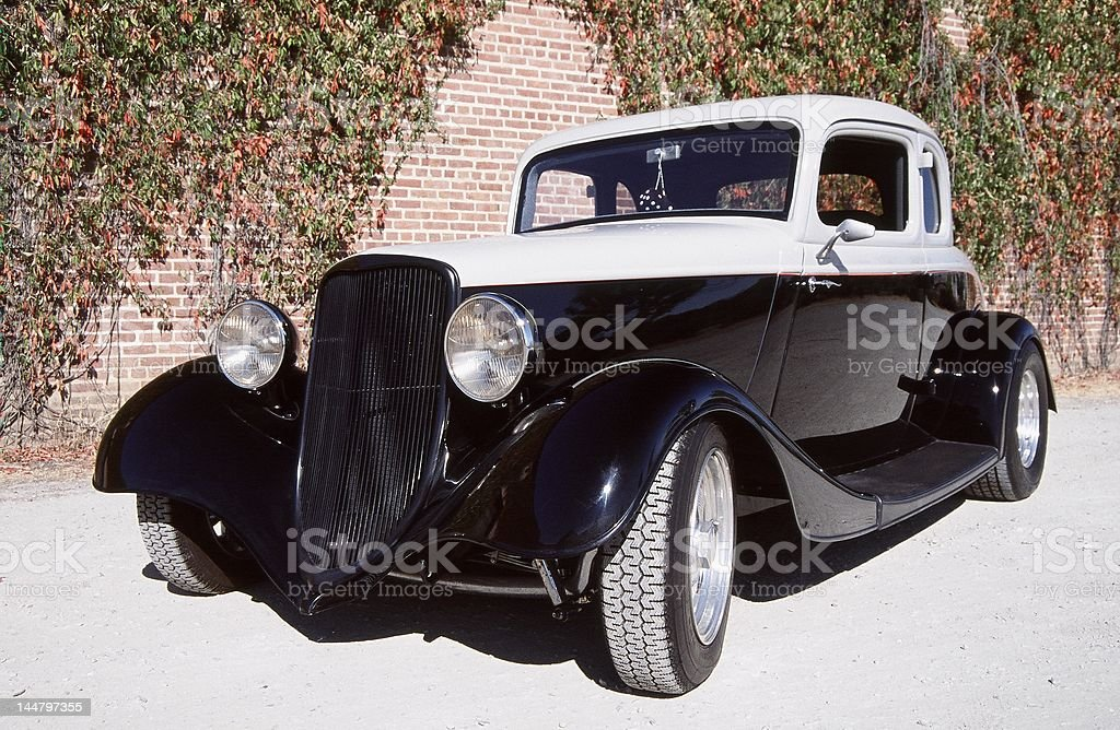 Ford five window coupe royalty-free stock photo